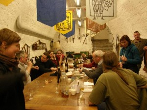 Le caveau - Vibiscum event - 02/2010